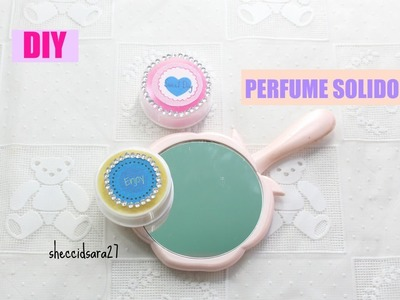 Diy perfume sólido