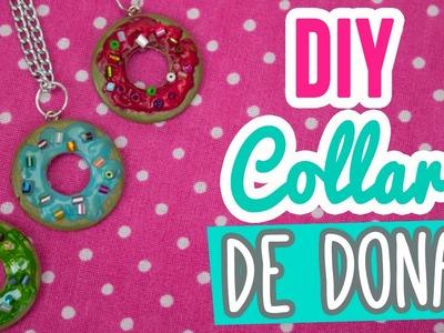 ¡Collares de la Amistad! Collar Dona.Donut |  DIY Dije dona | Catwalk ♥