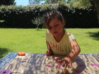 Los videos de Sofi. DIY:mEstampar papel de regalo