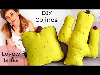 Lovely Cactus: DIY Cojines con Costura Francesa y Cordoncillo