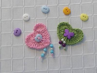Corazón a crochet