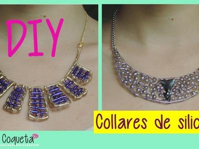 DIY Collares de silicon
