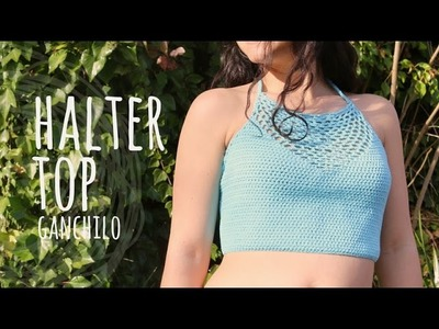 Tutorial Halter Top Ganchillo | Crochet Fácil y Rápido
