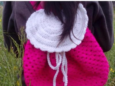 Como Hacer Bolso de Espalda en Crochet