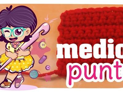 Medio Punto - TUTO Crochet #04