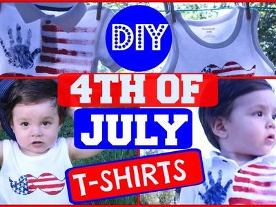 DIY 4th of july Shirts|DIY Independence Day Shirts|Hazlo tu Mismo-Playeras|Reishel LaSuperMamá