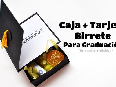 DIY : Caja + tarjeta birrete para graduación.- Brotes de Creatividad