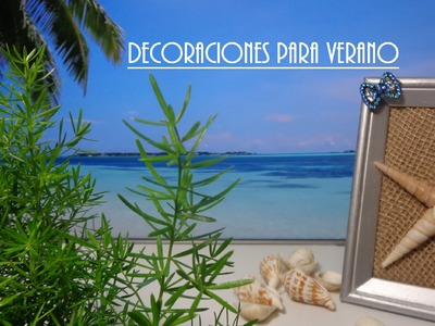 Room Decor 6 ideas DIY para decorar en verano