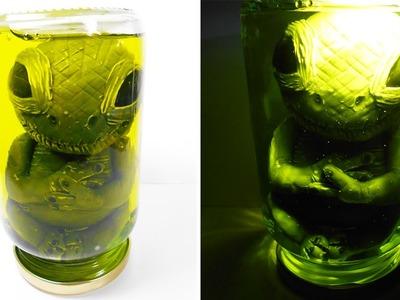 ✰ Alien in Jar Tutorial ✔ Polymer Clay ✔ Porcelana Fría