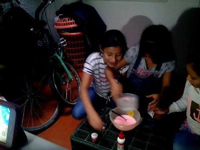 Como hacer slime manualidades
