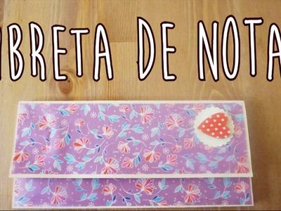 DIY Libreta de Notas