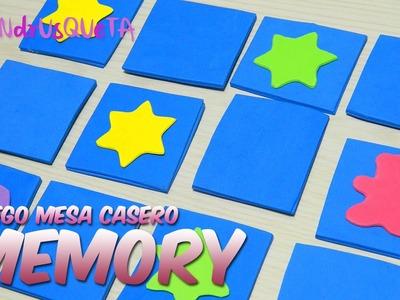 Juego memory casero | manualidades rápidas y fáciles | Sandrusqueta