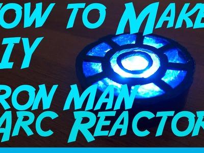 Como Hacer el Arc Reactor de Iron Man DIY NeRRRd 002