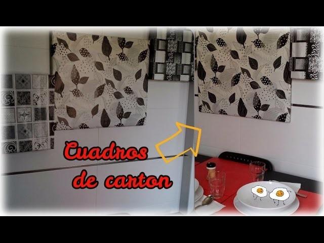 DIY Cuadros decorativos Fácil, Rápido y Bonito!!!