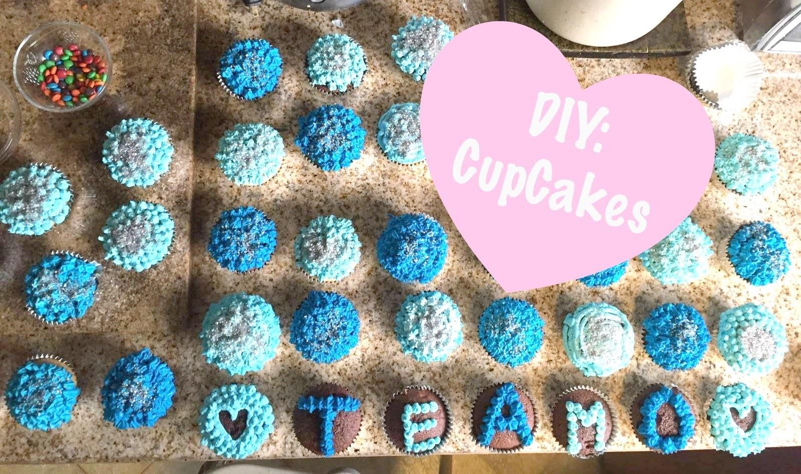 DIY Cupcakes para tu novio + día de la madre  Marqueza