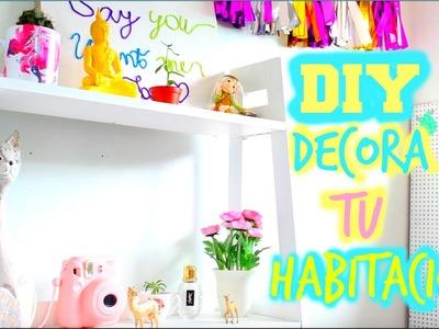 DIY Decora Tu Habitación ♥