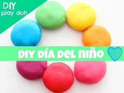 PLASTILINA PLAY DOH DIY. DIY DIA DEL NIÑO ♡ FT *1st mama*