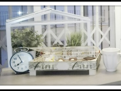 Reciclar una caja de fresa conviertiendola en una caja de té, diy recycled wood box