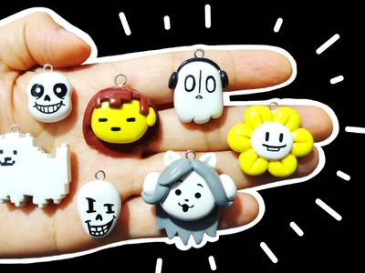 Manualidades Kawaii de Undertale! Sans, Napstablook, Papyrus, Annoying Dog Y MAS