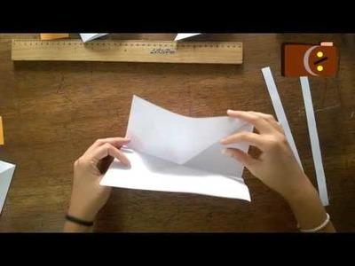 Origami Mariposa (Manualidades para Niños)