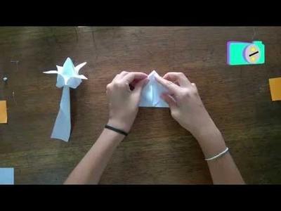 Origami Tulipan (Manualidades para Niños)