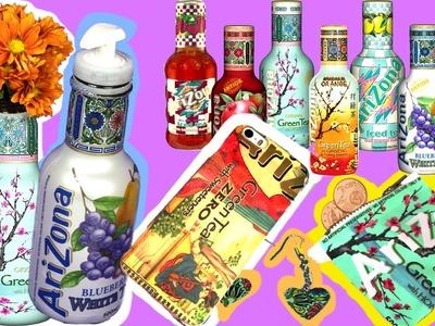 10 increíbles trucos con botellas de plástico: reciclar Arizona