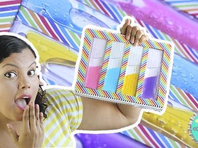 Cuaderno de Agua Arcoiris!.Floritere. Liquid Notebook