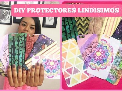 DIY haz tus protectores SUPER LINDOS mandalas, galaxia y mas - Brenda PE