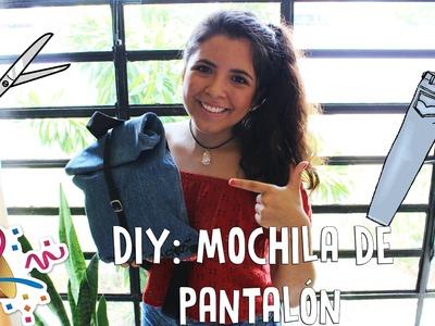 DIY: Mochila de pantalón | PIES VIAJEROS