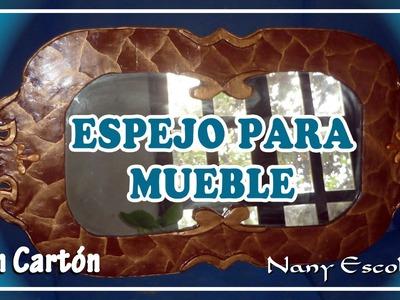 ESPEJO PARA MUEBLE CON CARTÓN