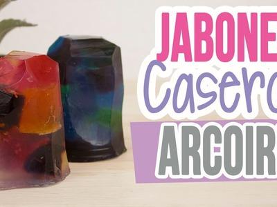 Haz Jabones Caseros Arcoiris!! ♥ | Decorativos| Jabones tipo Piedras o Cristales | Catwalk ♥