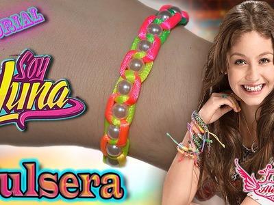 "♥ Tutorial: 2ª Pulsera inspirada en la serie ""Soy Luna"" || Bracelet ♥"