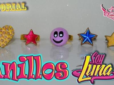 ♥ Tutorial: Anillos de Soy Luna || Luna's Rings (Muy fácil) ♥