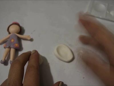 Como hacer hadas - Muy fácil  Cold porcelain tutorials Fairy