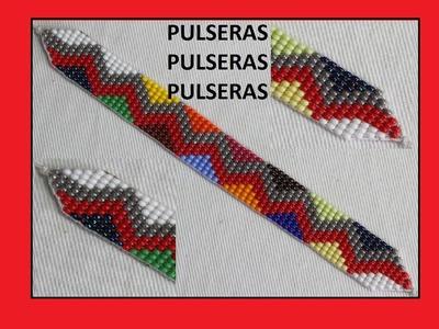 COMO HACER MANILLAS EN MOSTACILLA.pulseras