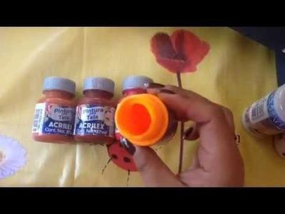 Como mantener nuestras pinturas líquidas con cony
