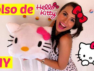 DIY: ¿Como hacer un bolso de Hello Kitty? (Colaboración con Mar)
