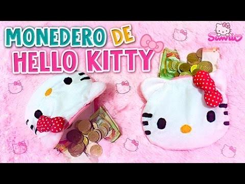 DIY KAWAII ☆ MONEDERO DE HELLO KITTY ☆ (SUPER FÁCIL) l Fabbi Lee