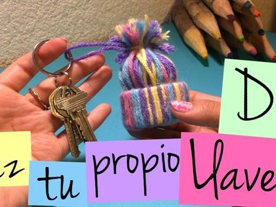 DIY · Tu propio Llavero de gorrito · Facilísimo ·