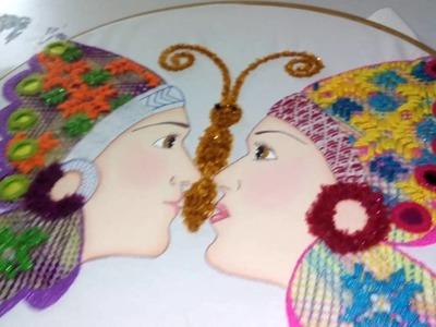 Pareja de apaches mariposa