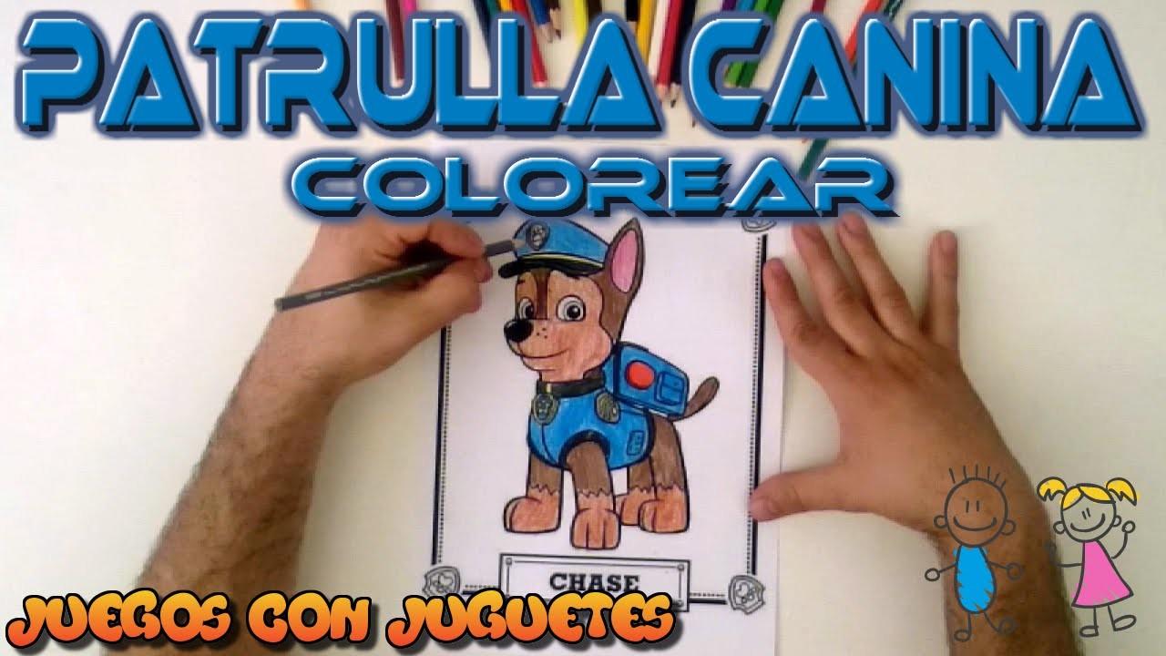 Dibujos Patrulla Canina En Color: Patrulla Canina Dibujos Para Colorear