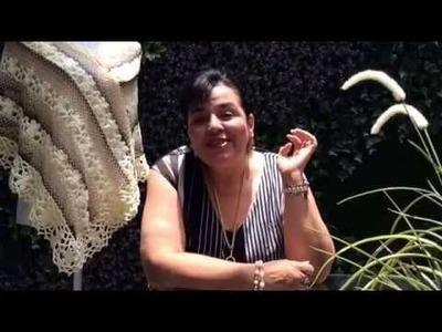 CAPITA CON RED PRIMAVERA - Ganchillo fácil y rápido - Tejiendo con LAURA CEPEDA