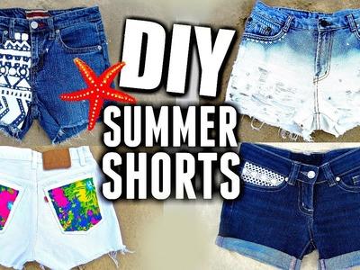 DIY SHORTS ROTOS Y DESGASTADOS | Pantalones nuevos reutilizando los viejos.