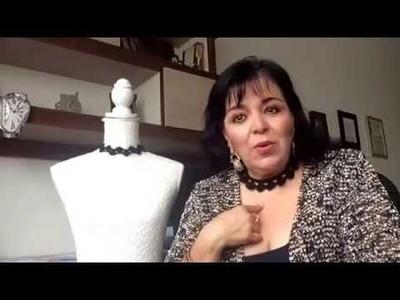 PARTE1 - CINTA PARA CUELLO - Tejidas a gancho fácil y rápido - Tejiendo con LAURA CEPEDA