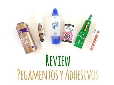 Qué pegamentos y adhesivos utilizar en el scrap? - Review