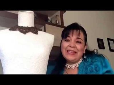 Parte2 - CINTAS PARA CUELLO - Tejidas a gancho fácil y rápido - Tejiendo con LAURA CEPEDA