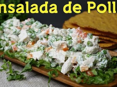 Receta de Ensalada de Pollo - ¡Súper Sencilla y Deliciosa! - Mi Cocina Rápida
