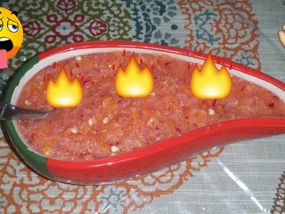 Salsas de Chile Habanero, para Pescados, Tacos y mucho más!!