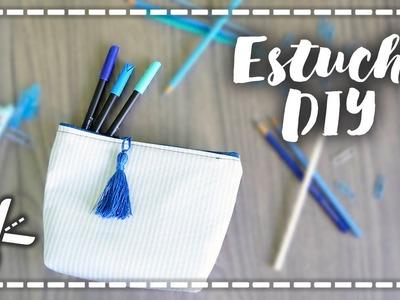 Aprende a hacer un ESTUCHE para clase - Back to School DIY