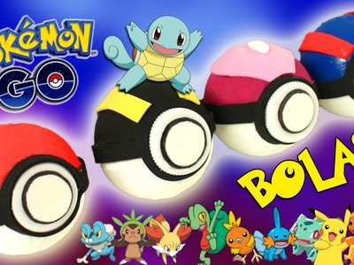 Bolas POKEMON GO real life * DIY Pokeballs